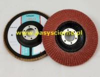 Ściernica listkowa talerzowa 125mm P080 ZIRCO Ceramic D