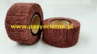 Ściernica włókninowa z gwintem Stal/Inox 100x50xM14 (P120)MEDIUM