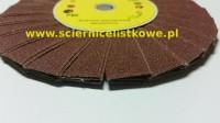 Ściernica daszkowa korundowa 165x14 P040
