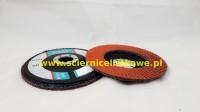 Ściernica lamelkowa ZIRCO 125mm P040 Ceramic CU płaska