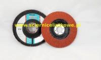 Ściernica lamelkowa ZIRCO 125mm P060 Ceramic CU