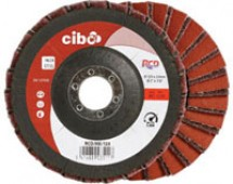 Ściernica włóknina/płótno COMBI 125mm COARSE+P80 RCD CIBO