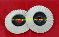 Ściernica listkowa talerzowa filc 125x22-3mm