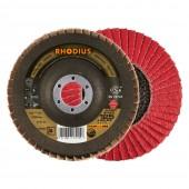 Tarcza listkowa RHODIUS cyrkonowa 125mm P040 JUMBO-SPEED TOP