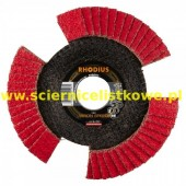 Tarcza listkowa RHODIUS 125mm P100 VISION SPEED TOP