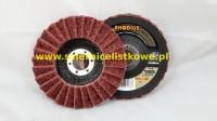 Ściernica listkowa talerzowa włóknina 125mm (P120)MEDIUM Rhodius