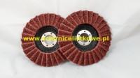 Ściernica listkowa talerzowa włóknina 125mm (P120)MEDIUM