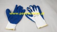 Rękawice nylonowe RNYLA niebieskie rozmiar 10