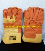 Rękawice ochronne ze skóry licowej rozmiar 10