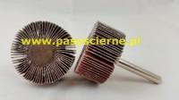 Ściernica listkowa trzpieniowa płótno Stal/Inox 30x30x6 P180