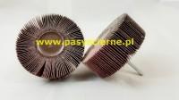 Ściernica listkowa trzpieniowa płótno Stal/Inox 50x30x6 P120
