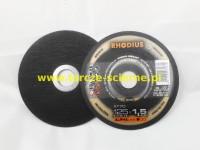 Tarcza do cięcia T41-125x1,5x22 RHODIUS XT70 ALPHA STAL/INOX