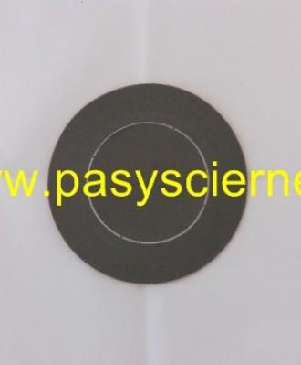 Krążek ścierny rzep 125mm A045 (P400) TRIZACT PERFORACJA 76MM
