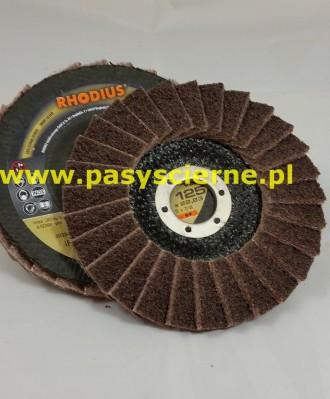 Ściernica listkowa talerzowa włóknina 125mm (P080)COARSE Rhodius