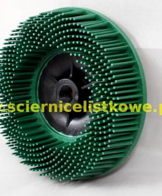 Szczotka Bristle BD-ZB doczołowa 115xM14 P050 zielona