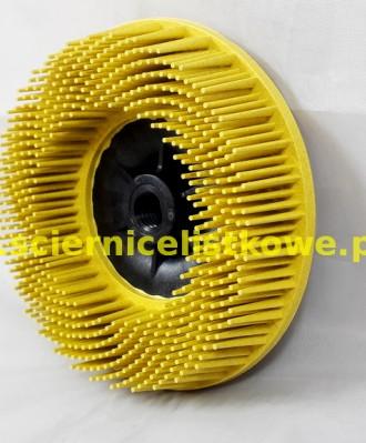 Szczotka Bristle BD-ZB doczołowa 115xM14 P080 żółta