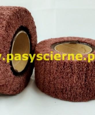 Ściernica włókninowa z gwintem Stal/Inox 100x50xM14 (P080)COARSE