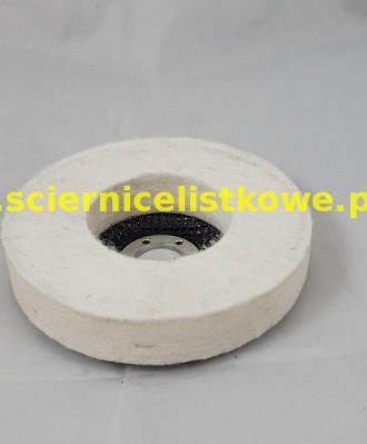 Ściernica talerzowa garnkowa filc 125x20x22 F-TG
