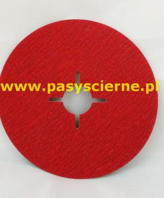 Krążek ścierny fibrowy 125x22mm P080 987C