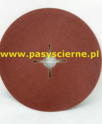 Krążek ścierny fibrowy 125x22mm P080 KFS