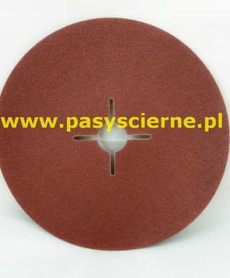 Krążek ścierny fibrowy 180x22mm P036 KFS