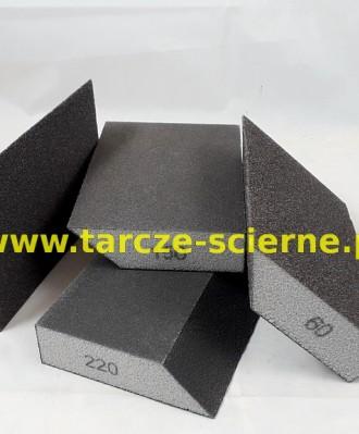 Gąbka ścierna trapezowa 100x70x27 P120
