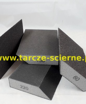 Gąbka ścierna trapezowa 100x70x27 P220
