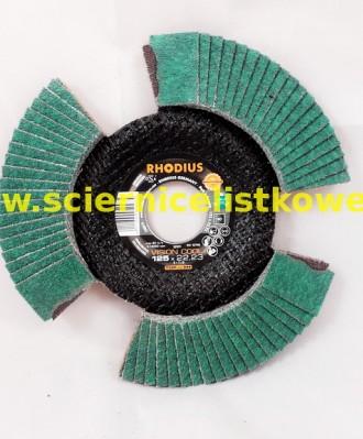 Tarcza listkowa RHODIUS 125mm P060 VISION COOL TOP