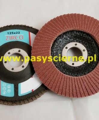 Ściernica lamelkowa ZIRCO 125mm P040 Economic A