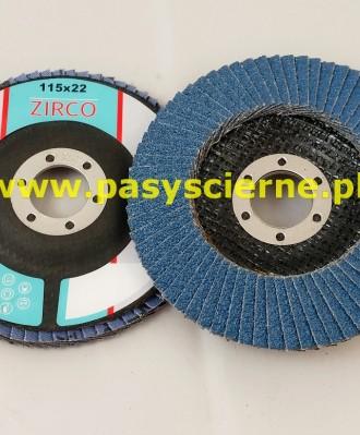 Ściernica lamelkowa ZIRCO 115mm P100 Special B