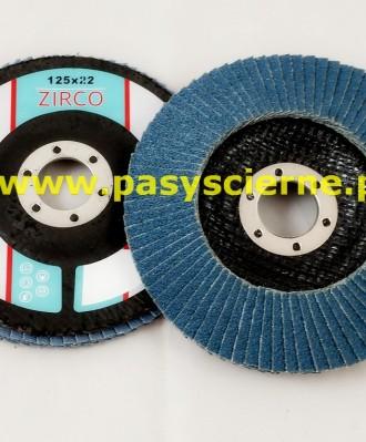 Ściernica lamelkowa ZIRCO 125mm P040 Special B