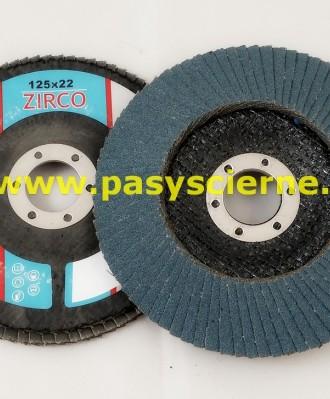 Ściernica lamelkowa ZIRCO 125mm P040 Special Z