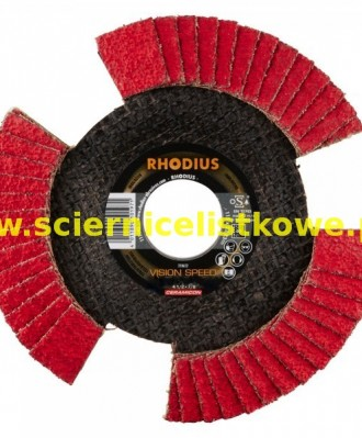 Tarcza listkowa RHODIUS 125mm P080 VISION SPEED TOP
