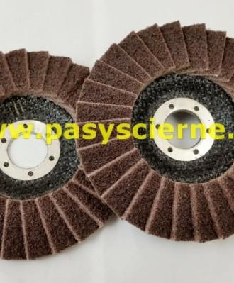 Ściernica listkowa talerzowa włóknina 125mm (P080)COARSE