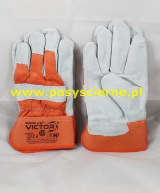 Rękawice ochronne ze skóry bydlęcej rozmiar 10