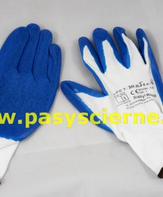 Rękawice nylonowe TELA niebieskie rozmiar 11
