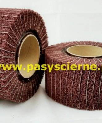 Ściernica włóknina-płótno z gwintem Stal/Inox 100x50xM14 P180