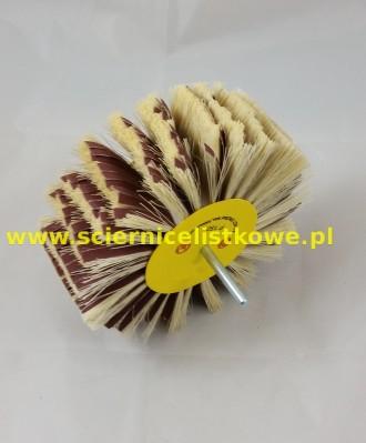 Ściernica listkowa Agawa/płótno trzpieniowa tarczowa 125x50x6 P100