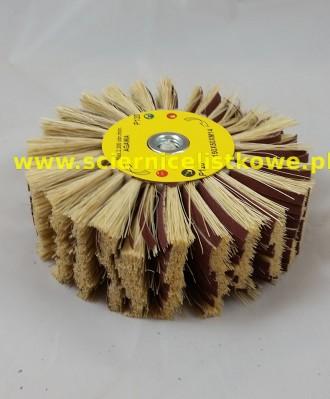 Ściernica listkowa Agawa/płótno tarczowa z gwintem 125x50xM14 P150