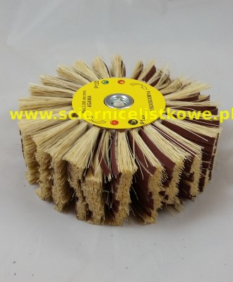 Ściernica listkowa Agawa/płótno tarczowa z gwintem 150x50xM14 P240