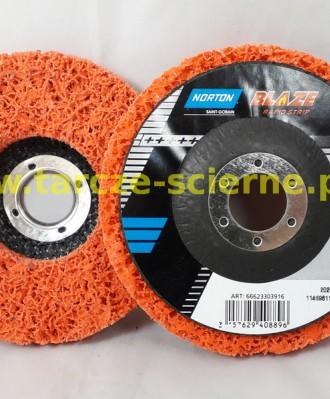 Ściernica talerzowa włóknina nylonowa 125x22mm CERAMIC XCRS NORTON