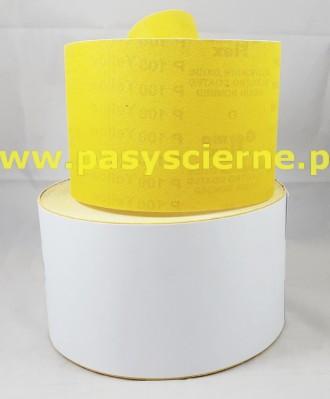 Papier ścierny 115 mm P100 YELLOW